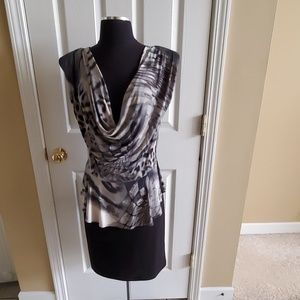 Black & white dress size large